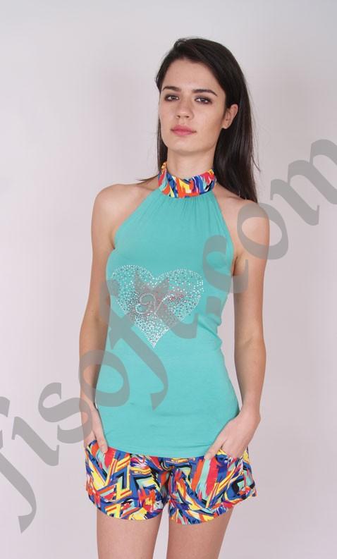 Пижама женская шорты Nicoletta 92113