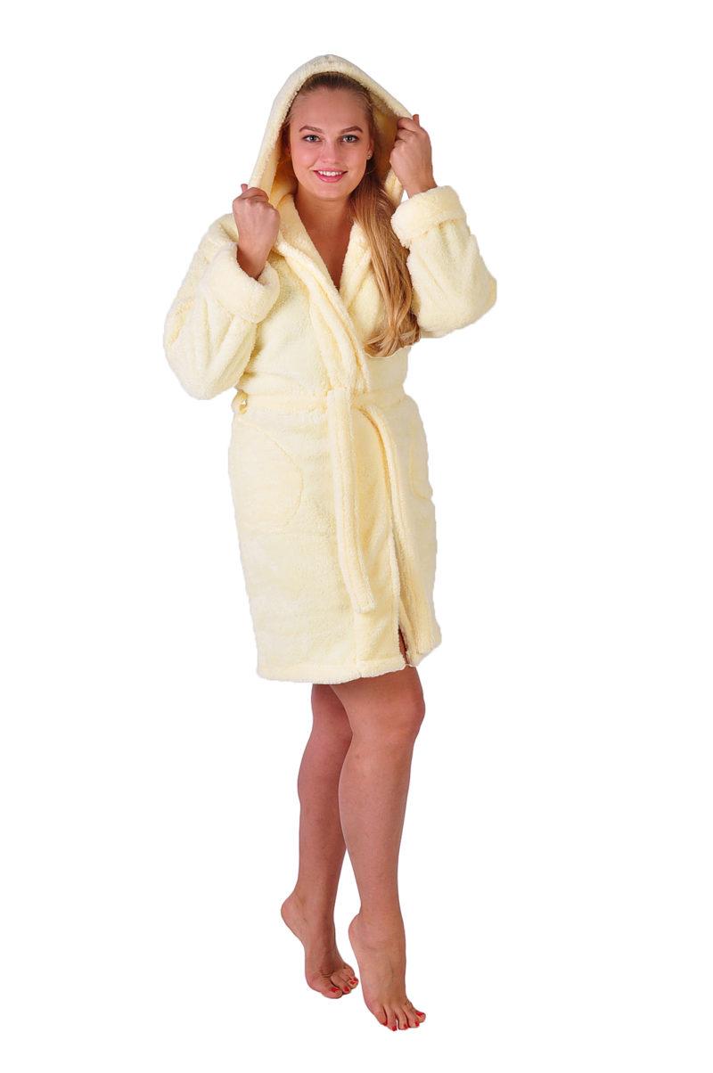 Махровый халат Sofi Soft 00814-4 крем