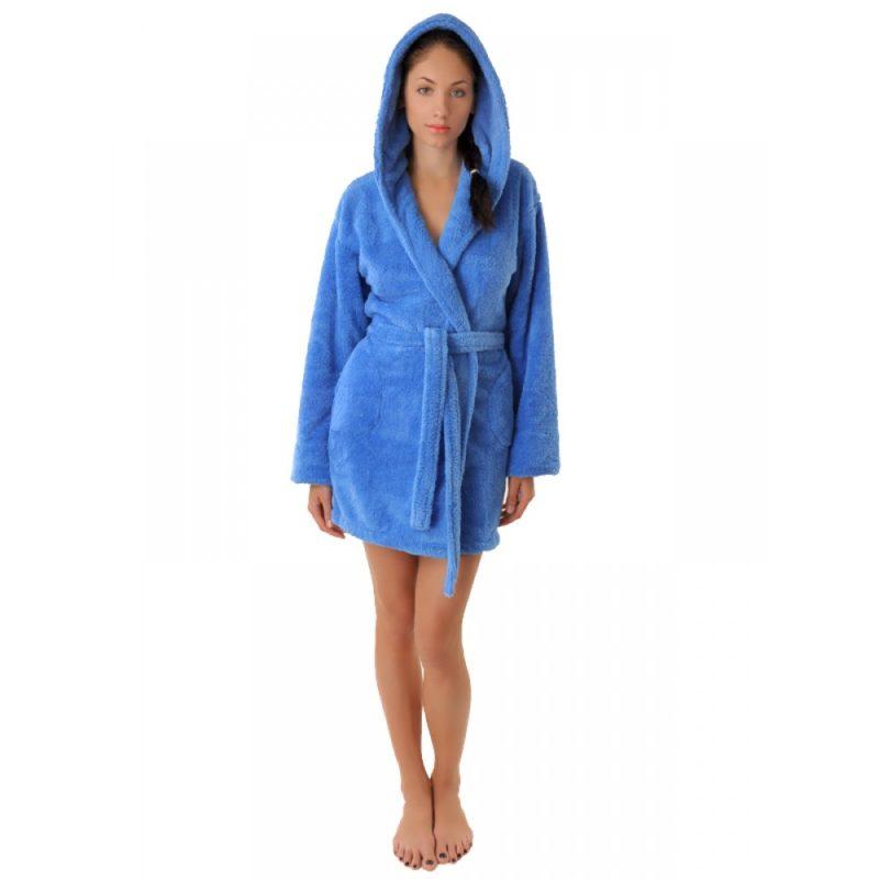 Махровый халат Sofi Soft 10814-8 голубой