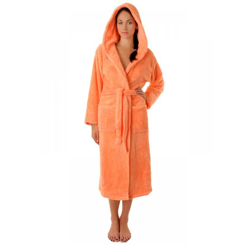 Махровый халат Sofi Soft 10815-1 персик