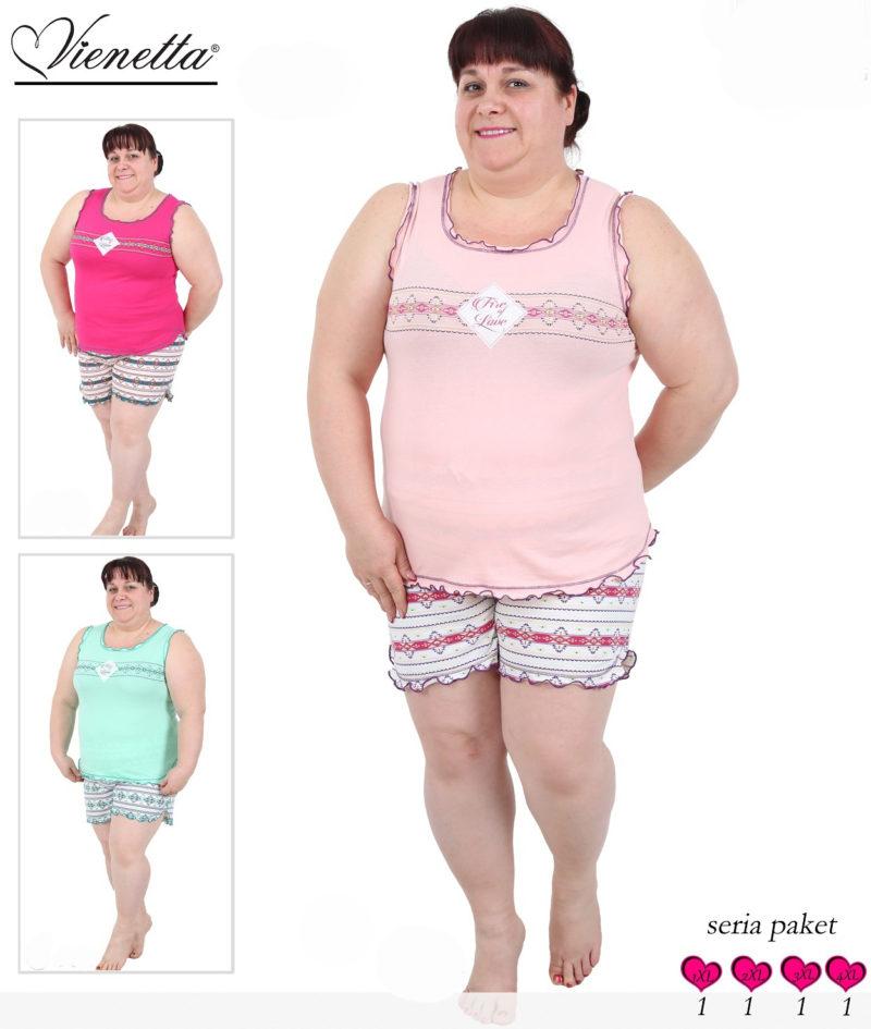 Пижама женская шорты 4091224015