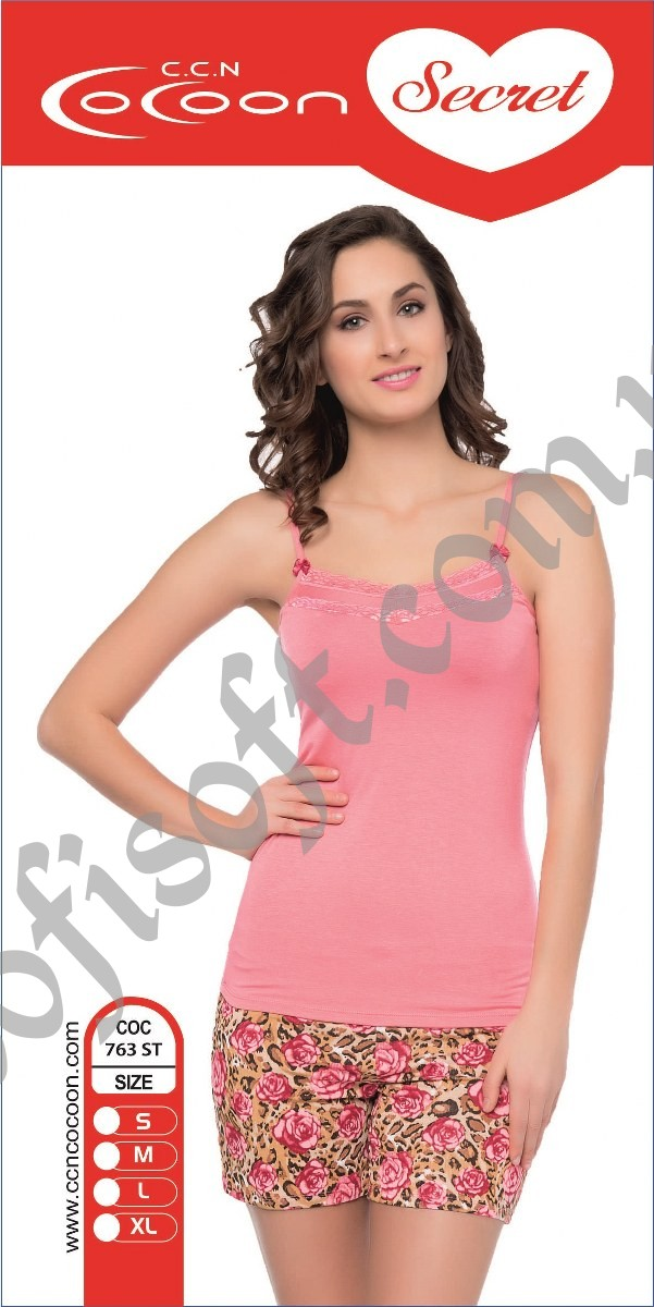 Пижама женская шорты Cocoon 763 ST