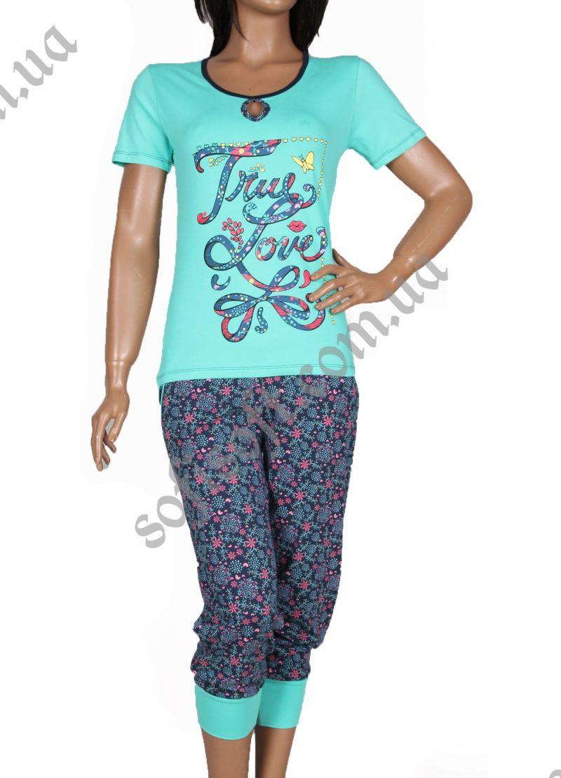 Пижама женская NIC1 12554 капри
