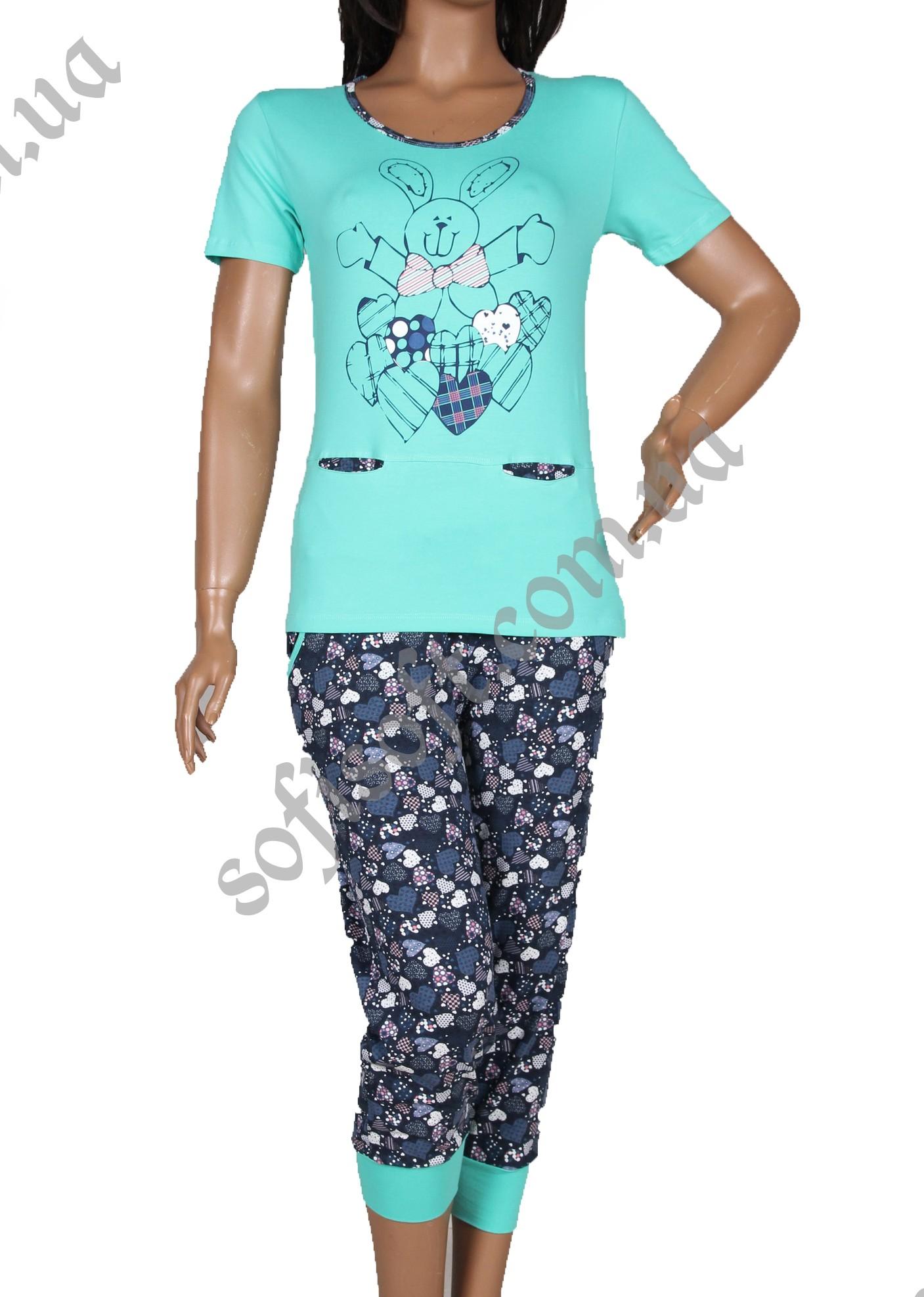 Пижама женская NIC1 12555 капри