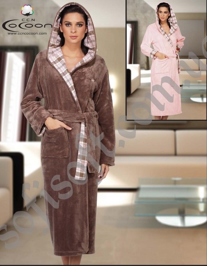 Халат махровый Cocoon V20-5011 VZN