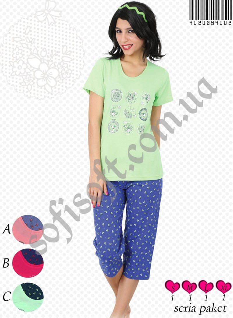 Пижама женская Капри 4020394002
