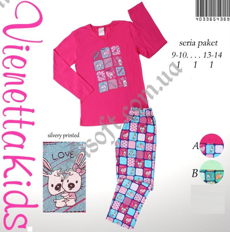 Пижама детская трикотаж 4033654369
