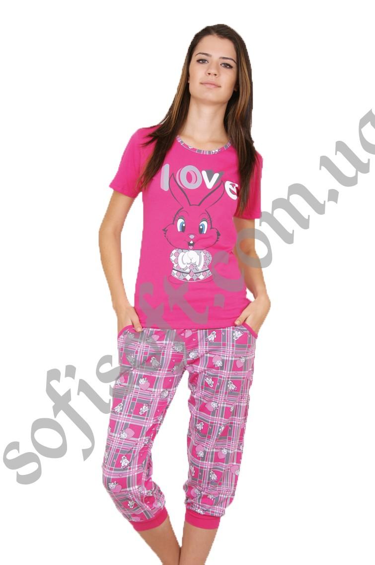 Пижама женская NIC2 45022 капри