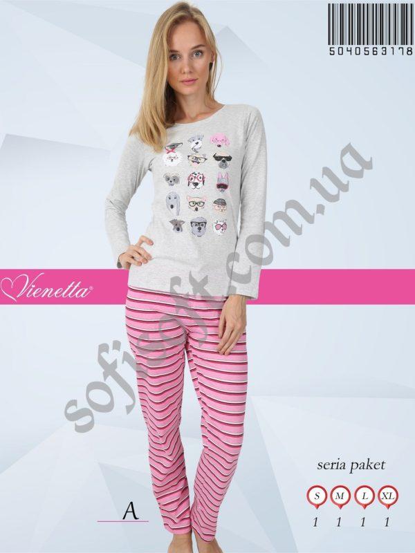 Пижама женская брюки 5040563178