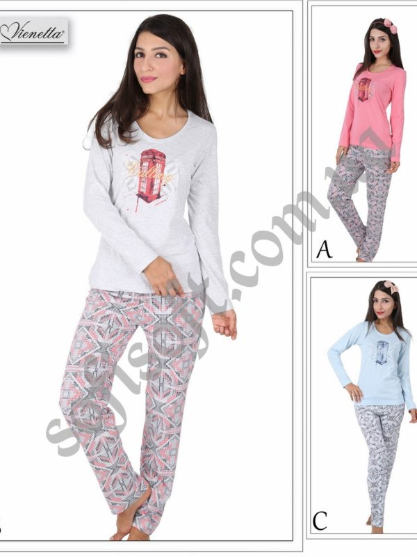 Пижама женская брюки 5041364318