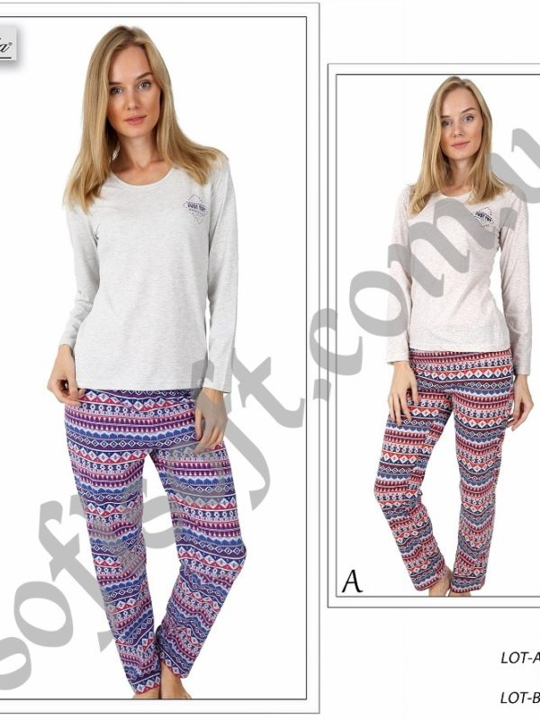 Пижама женская брюки 5041424318