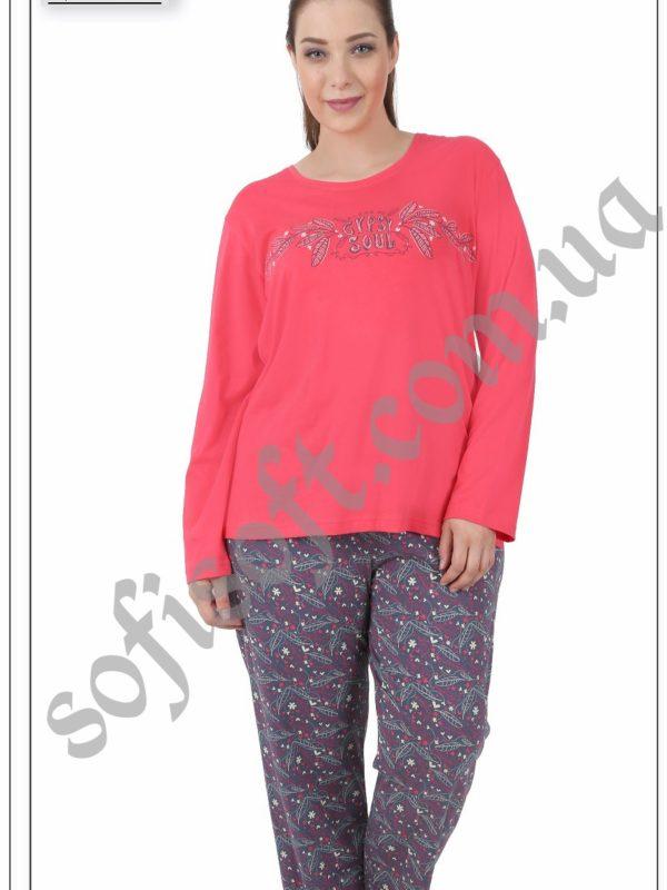 Пижама женская брюки 5041984375
