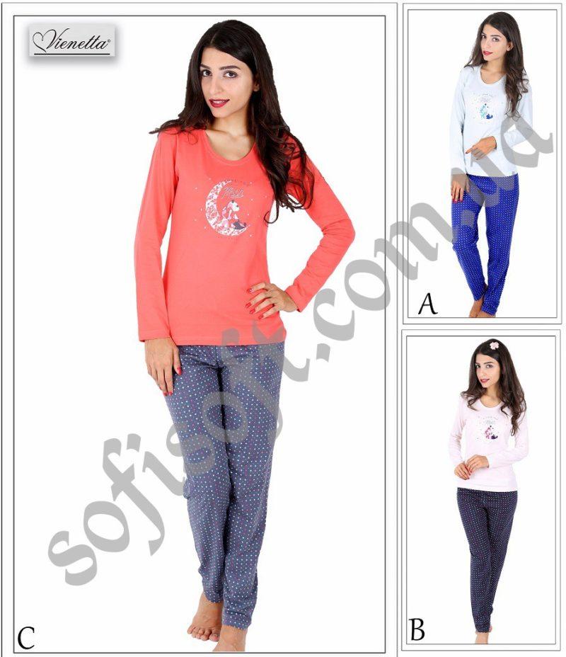 Пижама женская брюки 5042305074
