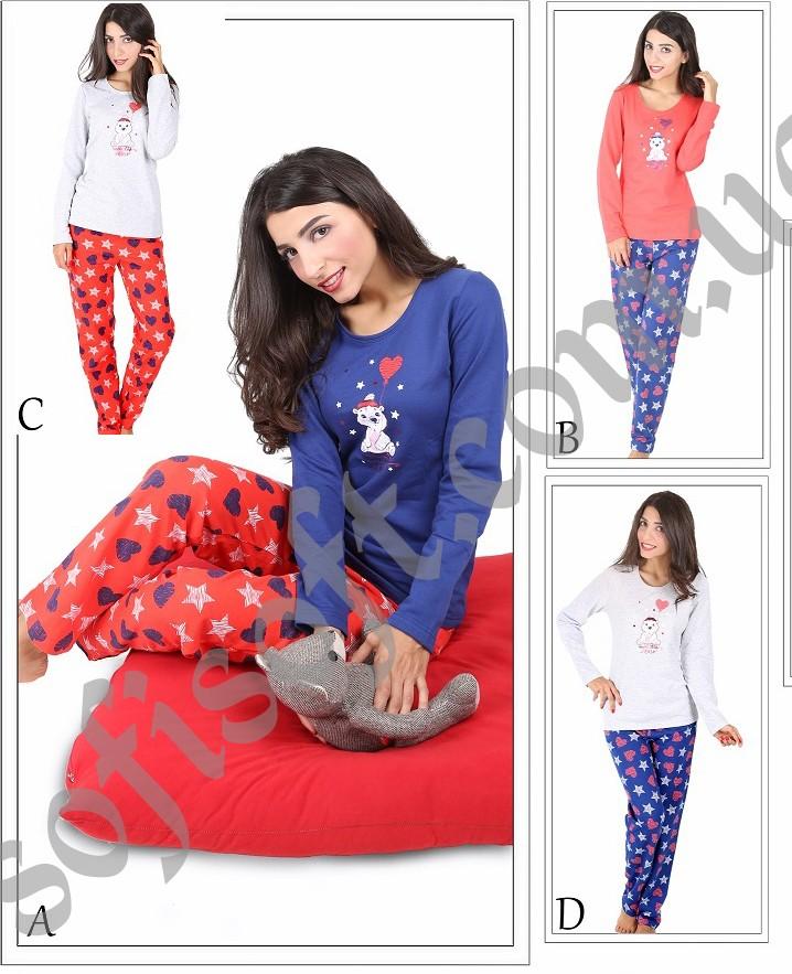 Пижама женская Байка 5042403056