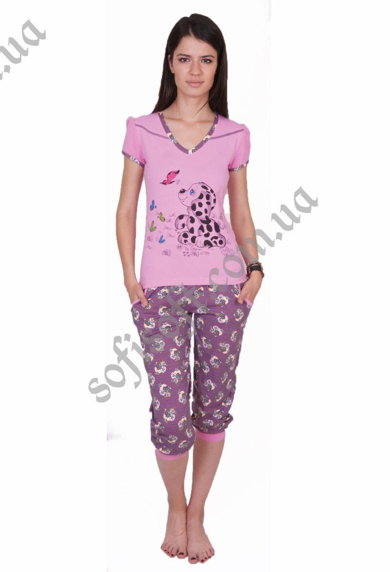 Пижама женская NIC 82274 капри