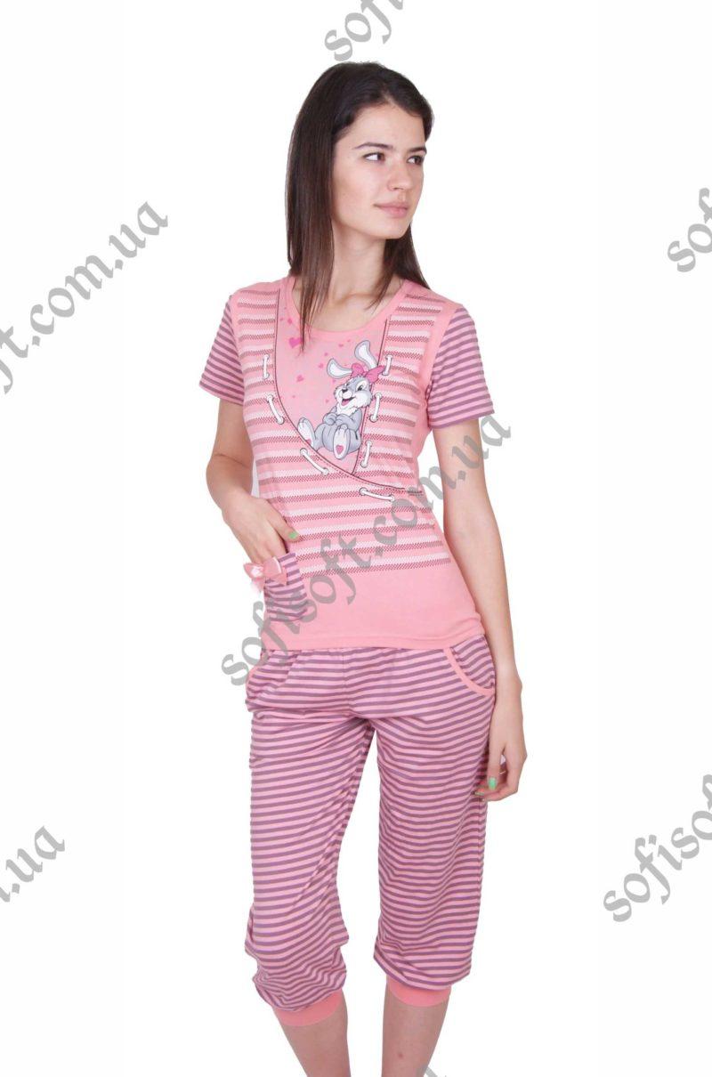 Пижама женская NIC4 82279 капри