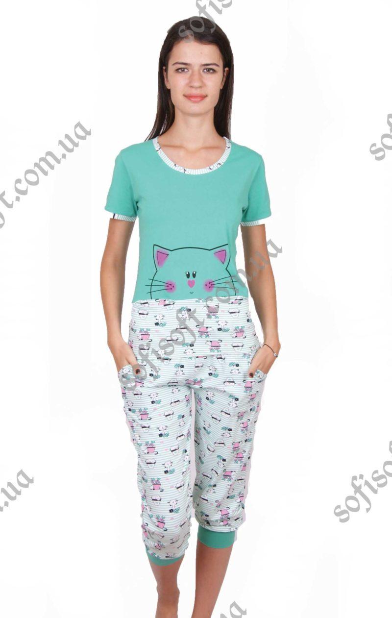 Пижама женская NIC4 82281 капри