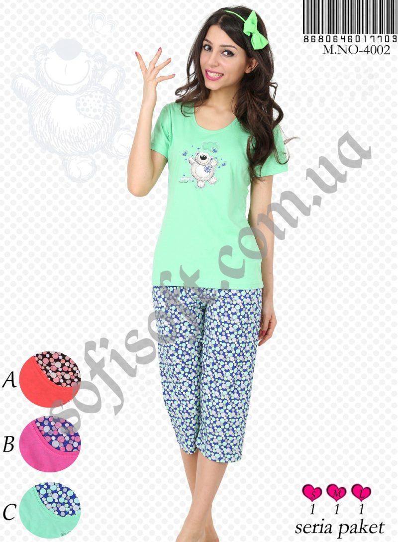 Пижама женская Капри 8680646017703