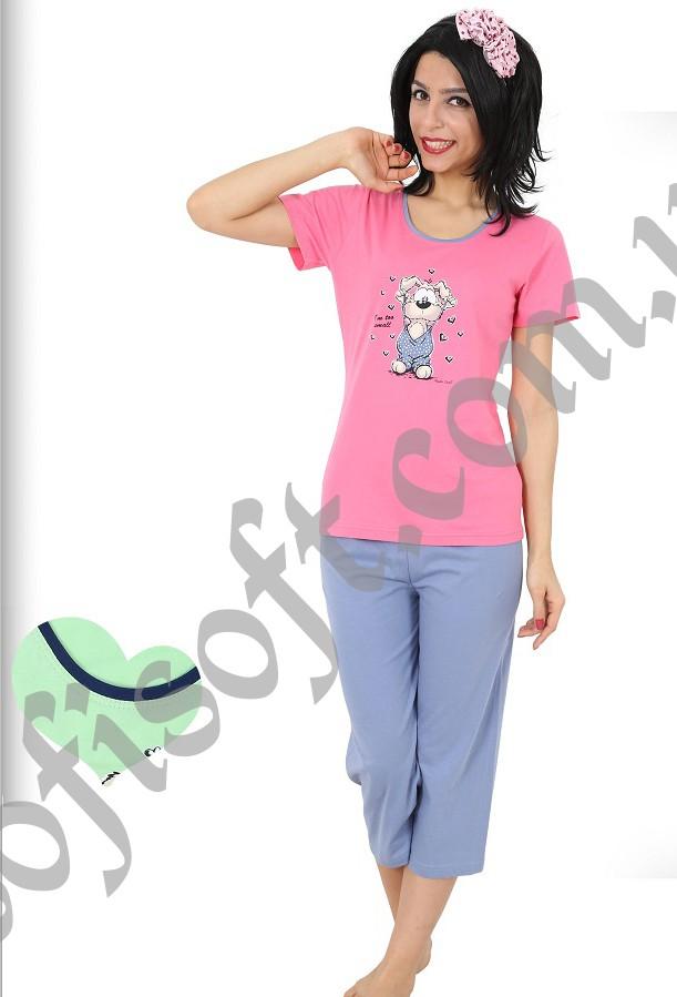 Пижама женская Капри 8680646018717