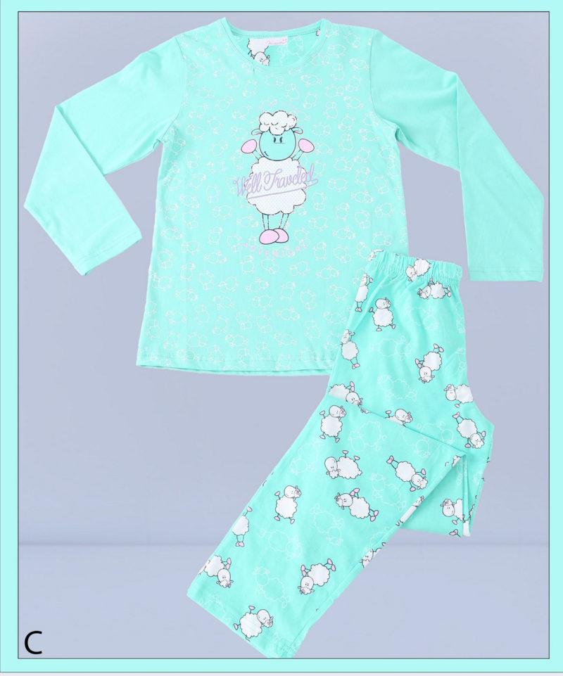 Пижама детская трикотаж 5041734459