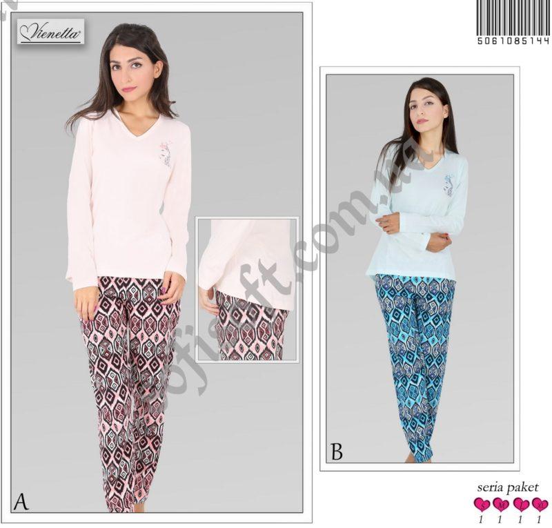 Пижама женская брюки 5061085144