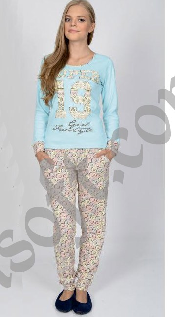Пижама женская Nicoletta 86565