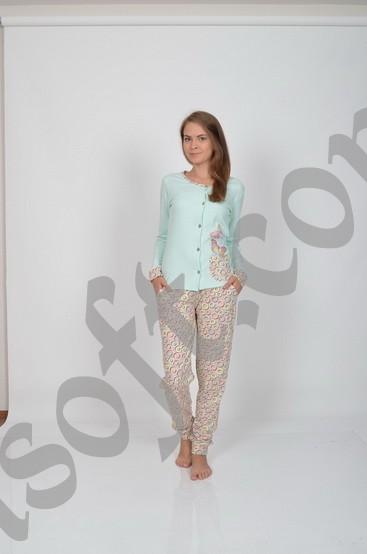 Пижама женская Nicoletta 86566