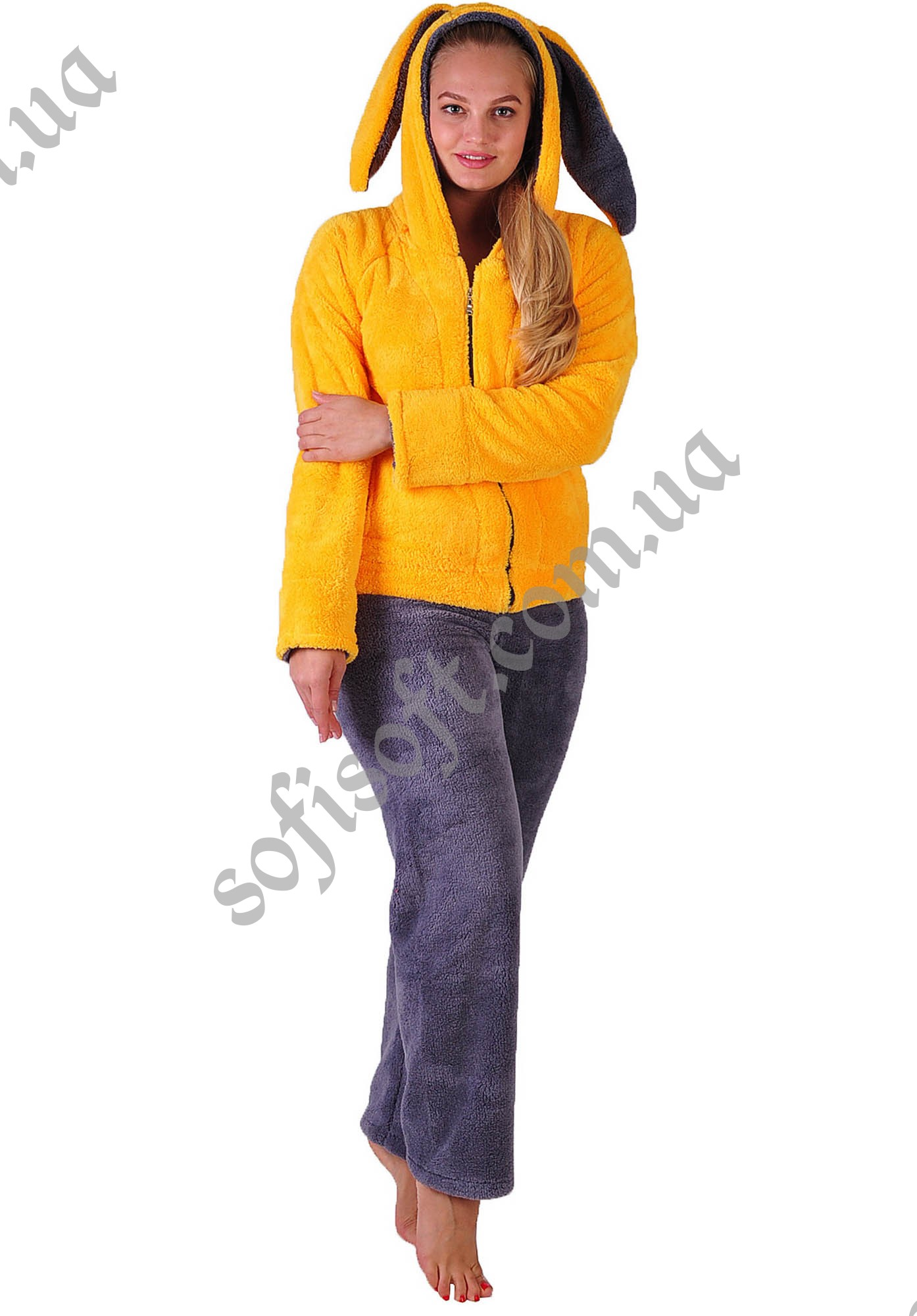 Пижама женская 1 PLAY BOY жёлтый