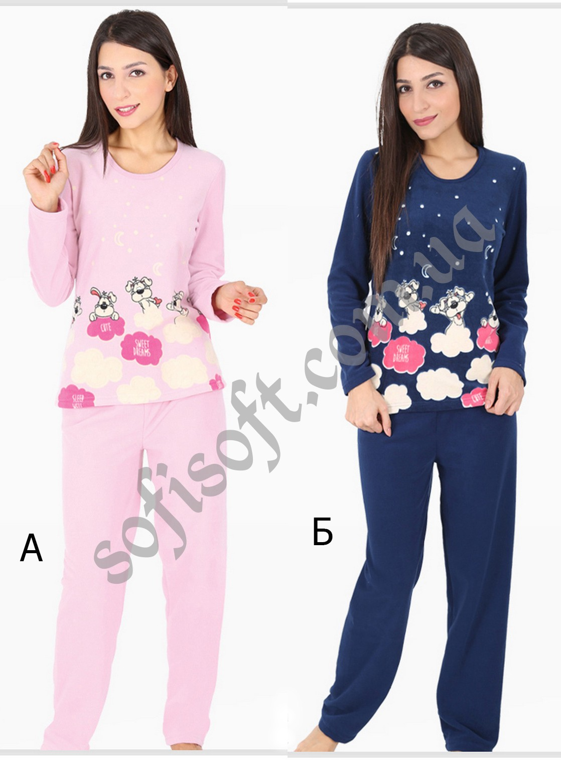 Пижама женская Флис 5050673218