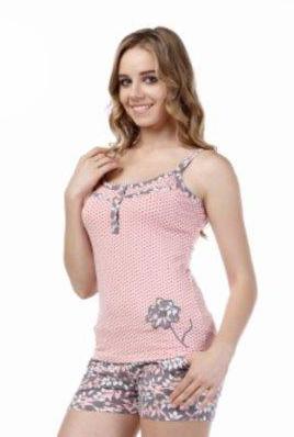 Пижама женская шорты Metin 8362