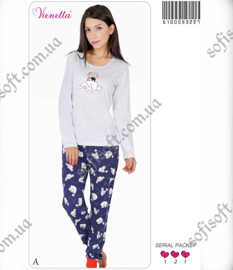 Пижама женская манжет 5100093227
