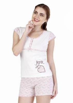 Пижама женская шорты Metin 8540
