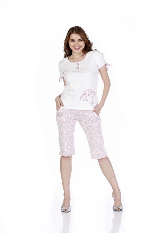Пижама женская капри Metin 9234