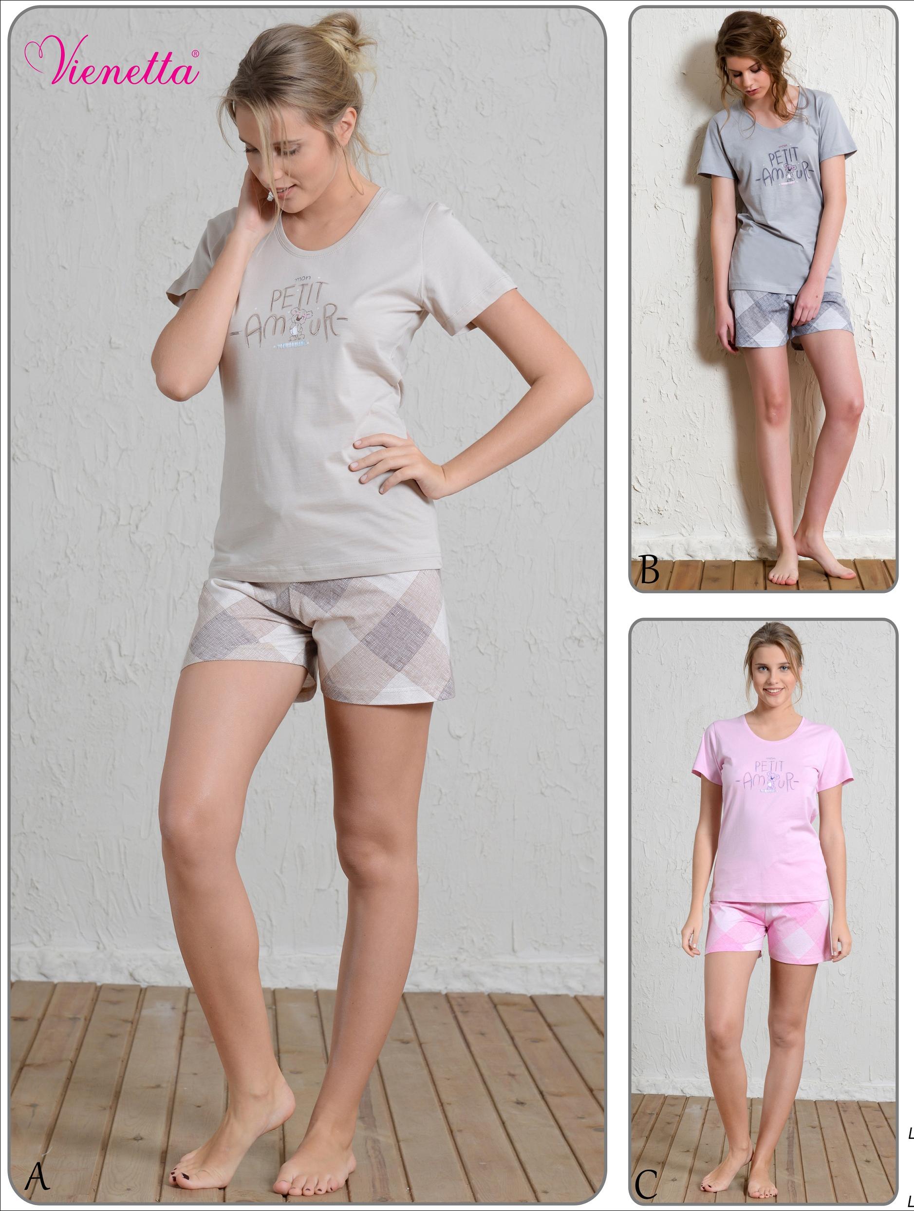 Пижама женская шорты 5101144003