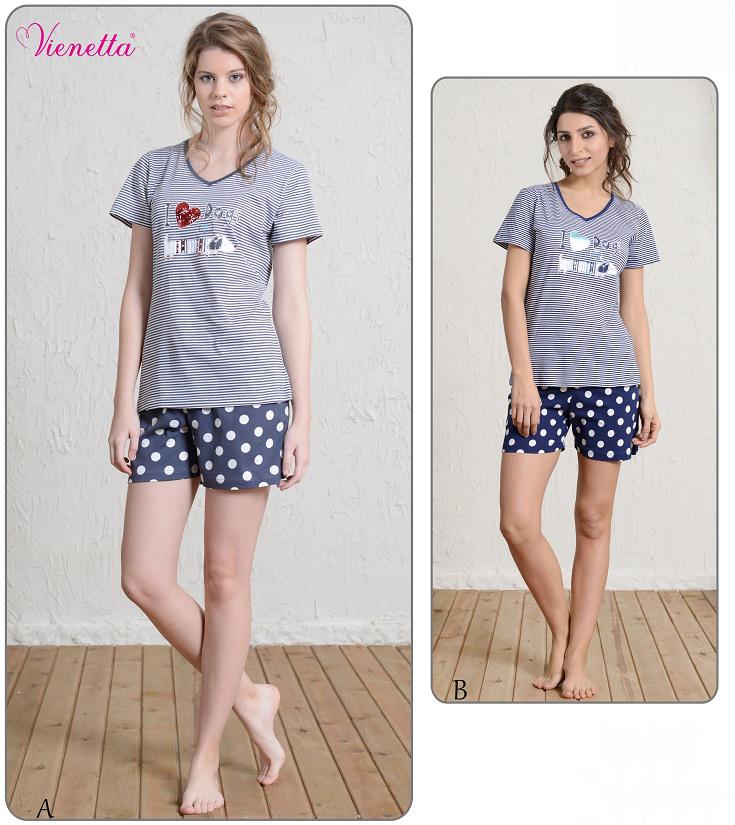 Пижама женская шорты 5101305344