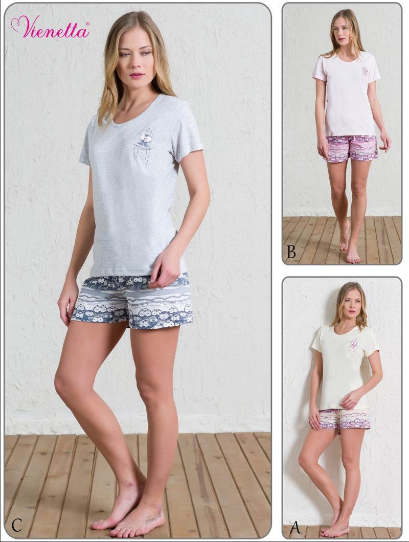Пижама женская шорты 5101424003
