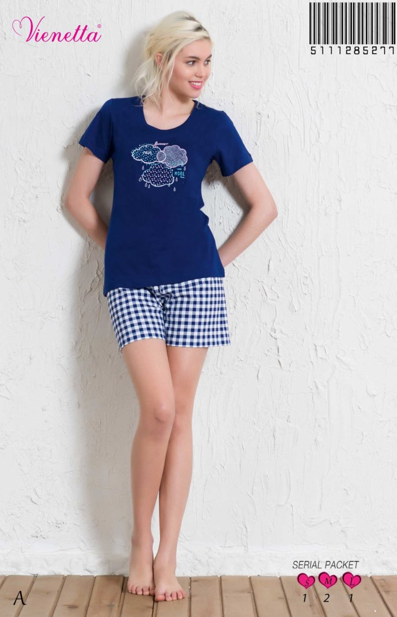 Пижама женская шорты 5111285277