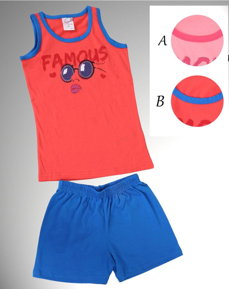 Пижама детская шорты 3120684096
