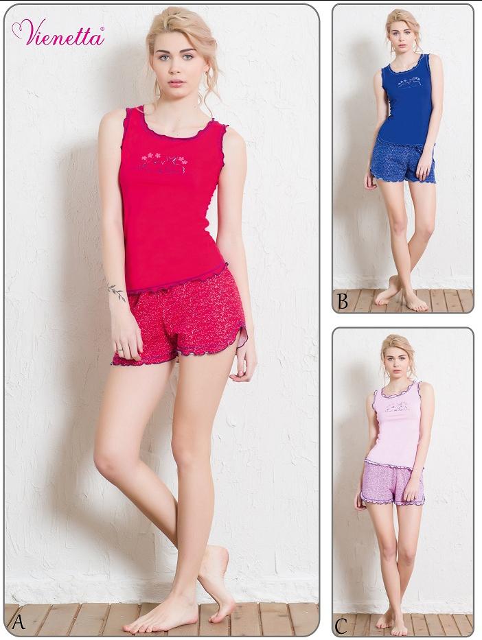 Пижама женская шорты 4080664010