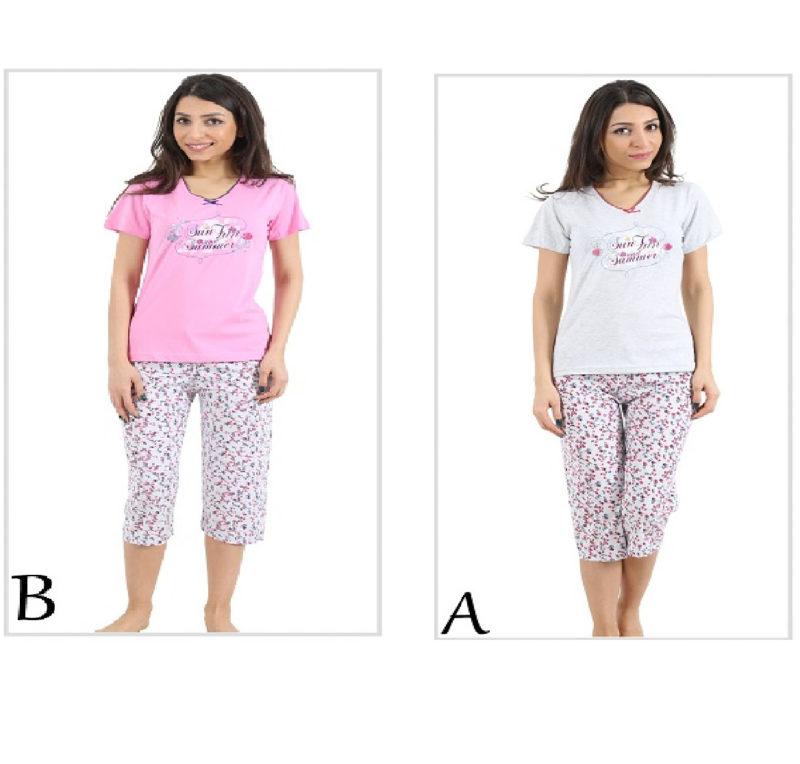 Пижама женская Капри 4080804688