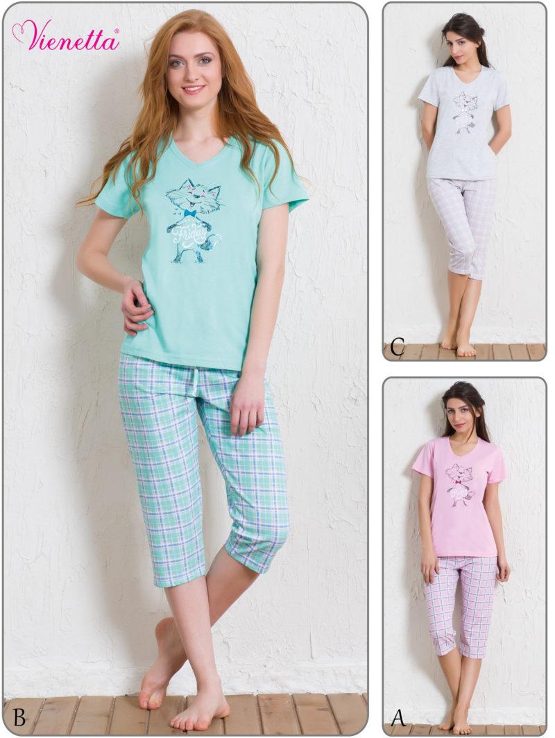 Пижама женская Капри 5110635206