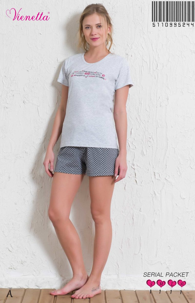 Пижама женская шорты 5110995244