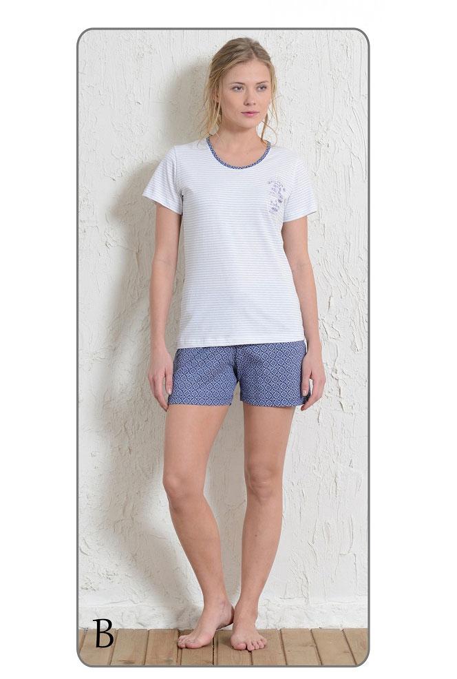 Пижама женская шорты 5111145261