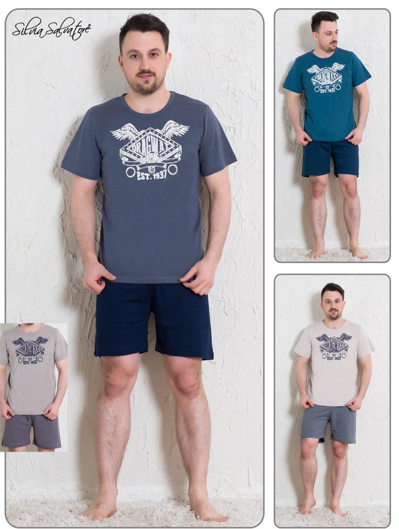 Пижама мужская шорты 5112277019