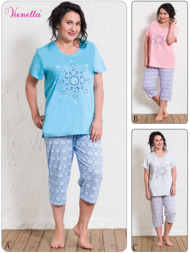Пижама женская Капри 5120495412