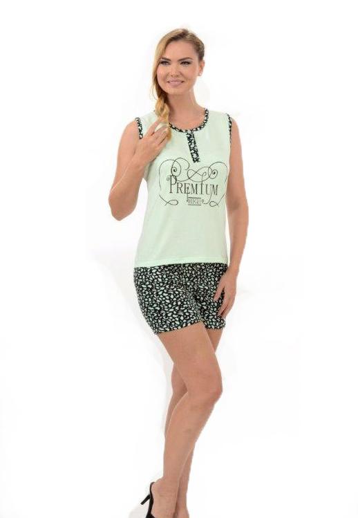 Пижама женская шорты Metin 8220
