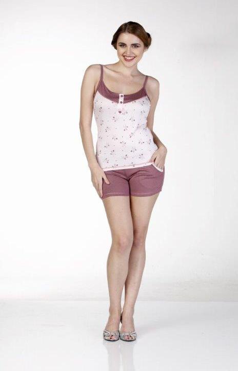 Пижама женская шорты Metin 8530