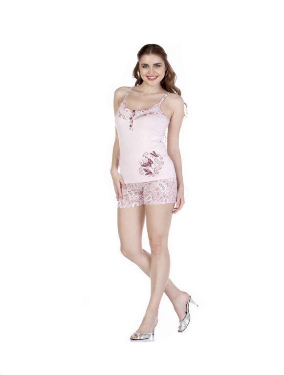 Пижама женская шорты Metin 8554