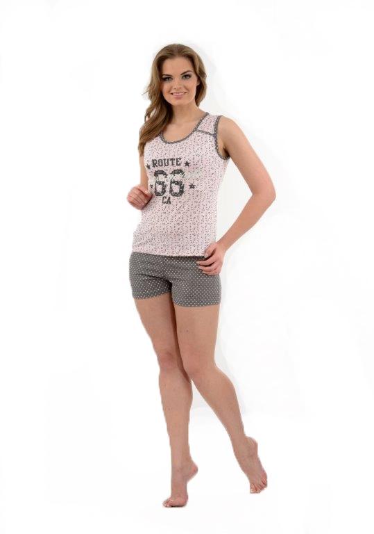 Пижама женская шорты Metin 9532