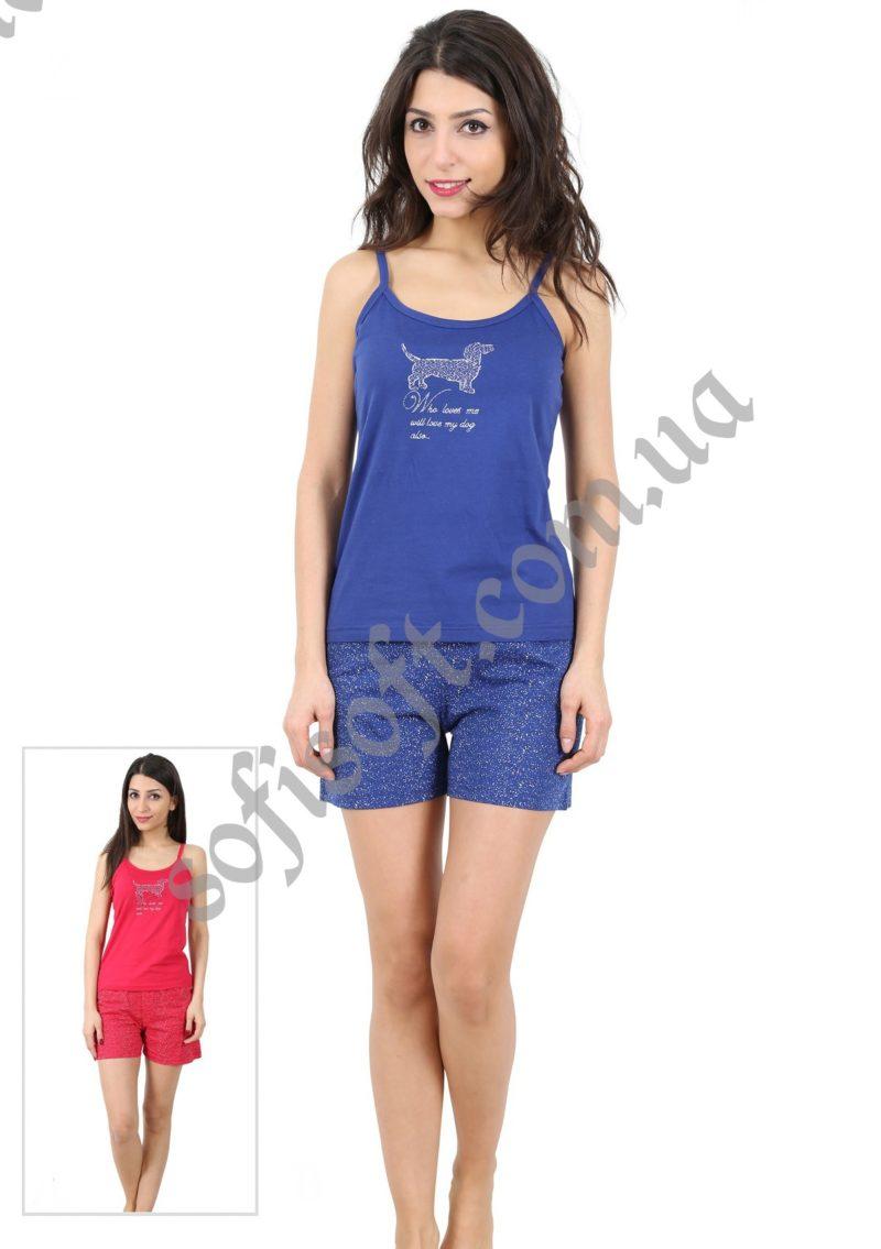 Пижама женская шорты 4080684001